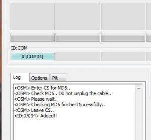How to install stock firmware using Odin on a Samsung device