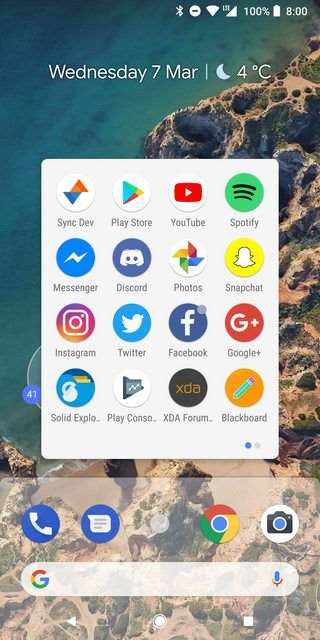 Download Android P Stock Launcher For All Android Phone