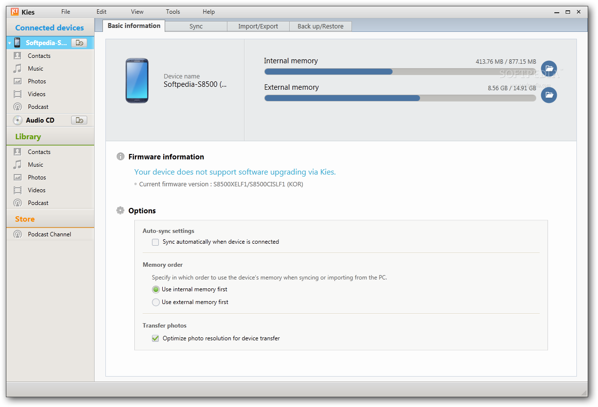 How to flash stock firmware via KIES on Samsung devices
