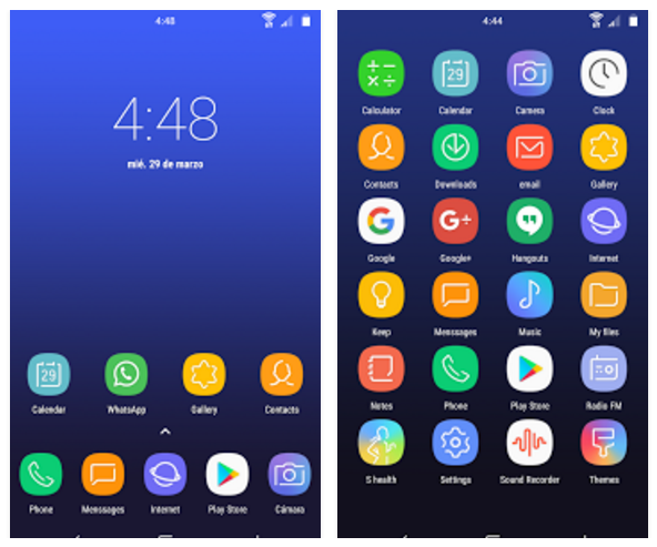 Download Samsung Galaxy S8 stock icons pack for any Android phone