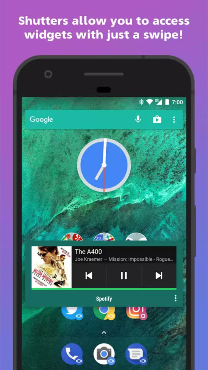 Download] Action Launcher v38 APK - Comes with Android Pie