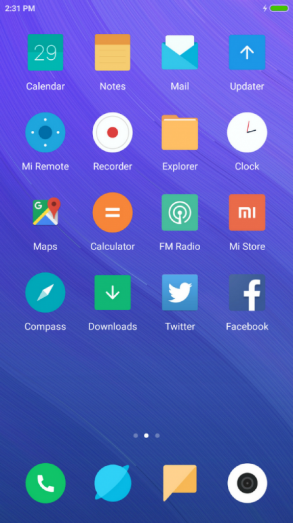 Download Mi Mix 2 Star Trail theme for all MIUI devices
