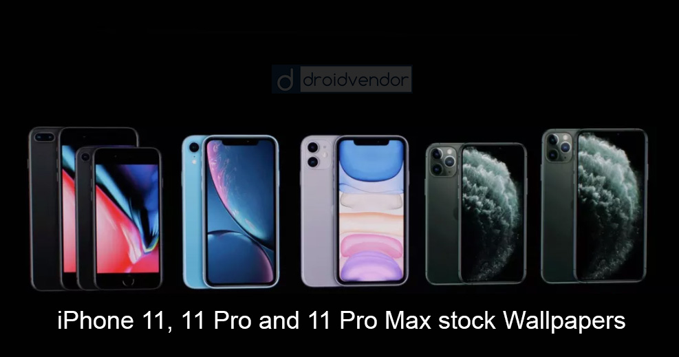 Download Iphone 11 11 Pro And 11 Pro Max Stock Wallpapers
